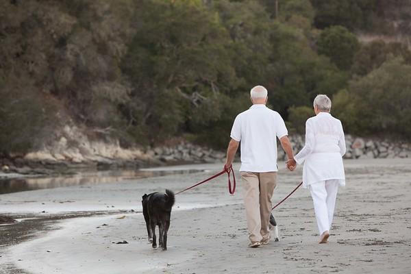 Judy + Mike | A Walk On The Beach