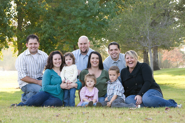 Sanders Family 10-31-09
