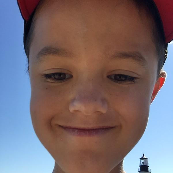 Selfie in Portland, ME