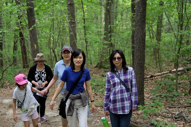 Hiking at Purgatory Chasm