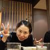 Ryoko posing for Justin.