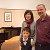 Justin's first ( and only)piano recital.