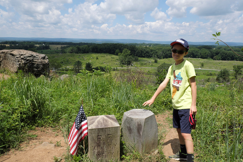 On Little Round Top
