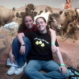 Kim & Lissa at the Museum