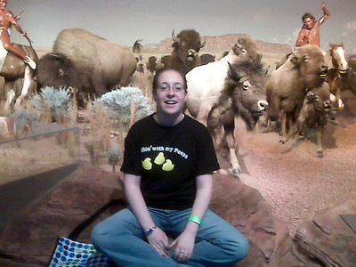Lissa at the Museum