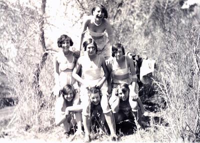 Beulah Frehner & cousins