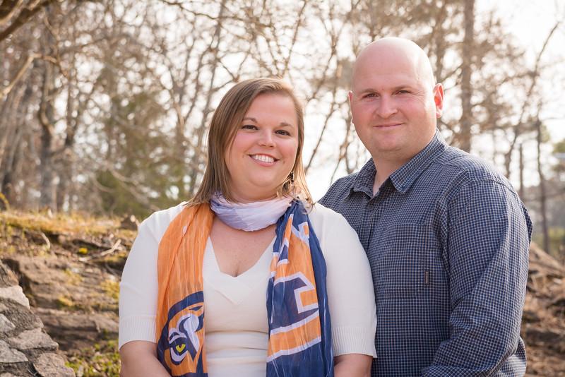 Joe & Ashley - engaged