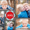 Christmas Card - 5x7 flat BACK