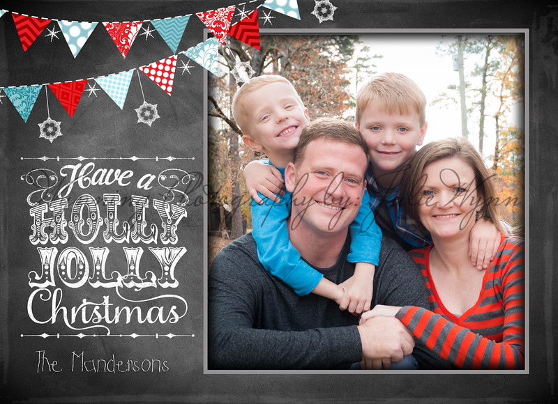 Christmas Card - 5x7 flat FRONT