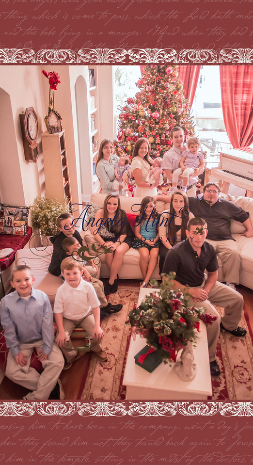 Christmas grandkids