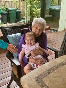 Victoria and grandma