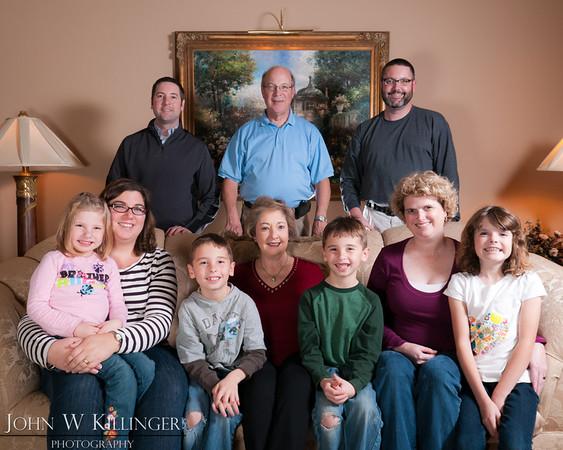 Killinger Family Portraits - December 2011
