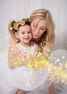 Momm and me glitter2