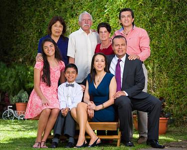 Sesión familiar y primera comunión.