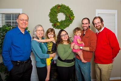 Sandra's Family - 2013