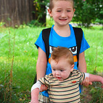 Big Brother, Baby Brother  (Zackary, 5, and Jack, 1), September 5, 2012<br /> (0230)