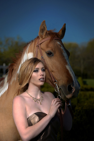 Fashion With Horse