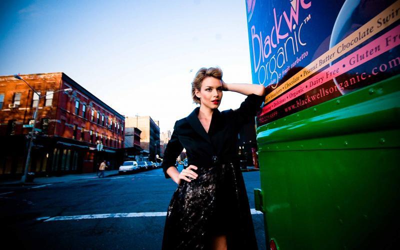 Fashion photo shoot, New York, NY, 2010.