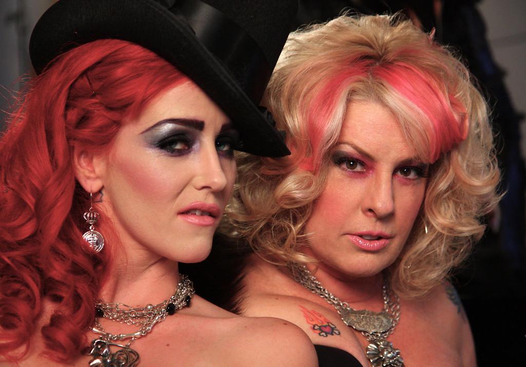 Katherine and Leslie.