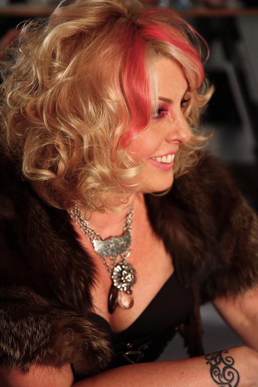 """Metal Maven"" Leslie Homan - Owner/Designer Femme Metale (Silver Jewelry that Rocks!)"
