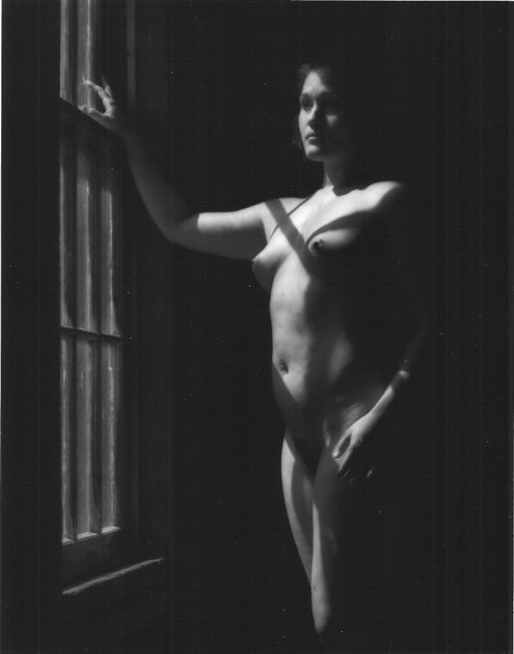 Window light, closer cropping from original print.