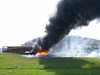 Photo courtesy of Stuart Nanney<br /> Following photos are of the Tractor Trailer fire on I-81    4/8/08