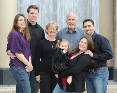 Fortier Family Winter 2012