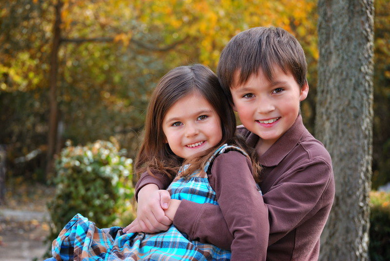 Robert and Estella ....October 2010 .... 7 & 6 years old