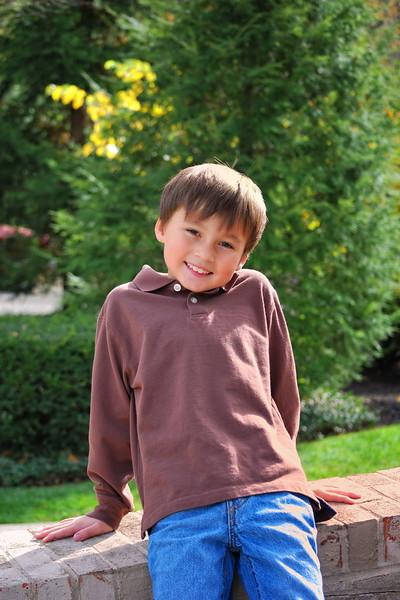 Robert ... 7 years old ...October 2010