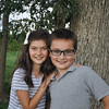 Robert and Estella ... September 2015 ... 11 & 12 years old