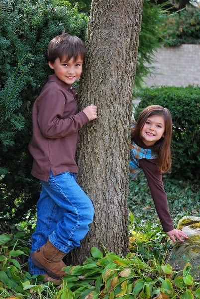 Robert & Estella ... October 2010... 7 & 6 years old