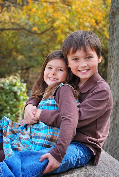 Estella and Robert ....October 2010 ... 6 & 7 years old