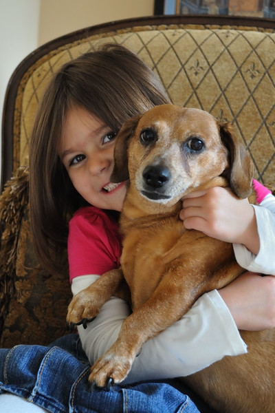Estella and Lilly. October 2009...five years old