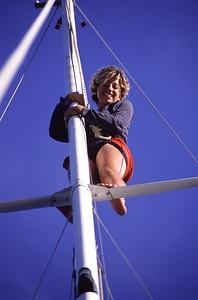 Irene on the Mast