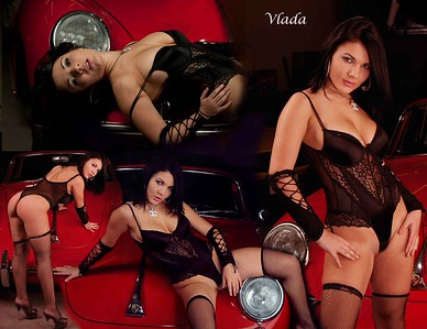 Vlada and Red Porsche Calendar 11 x 8 5 copy