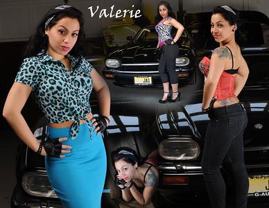 Valerie Jag 85x11 Calendar