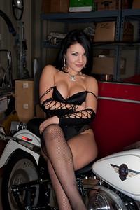 Vlada and the Harley 8