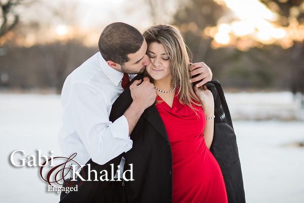 Gabi and Khalid: Engaged