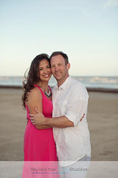 Galveston Beach Family