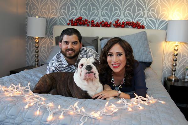 Garcia family Christmas 2014