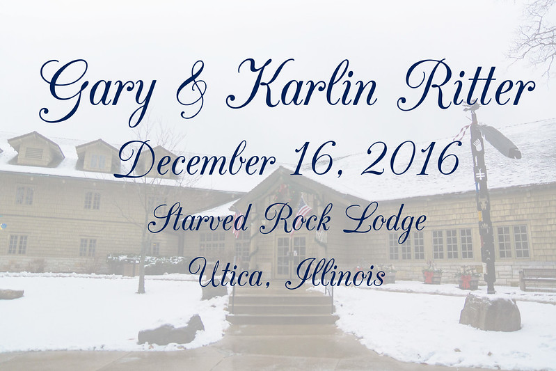 Ritter Wedding Dec 16 2016