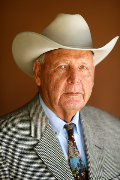 Gilbert Aguirre, Cattleman of the Year, 8/11/2014.