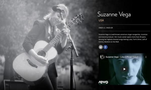 Suzanne Vega by GIna Kropf