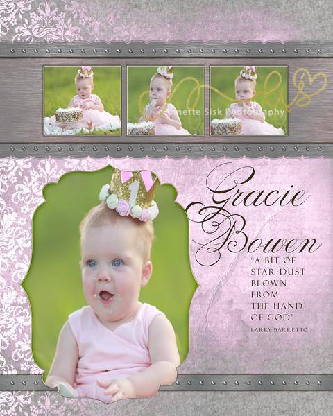 Gracie Bowen - 1st Birthday Smash The Cake