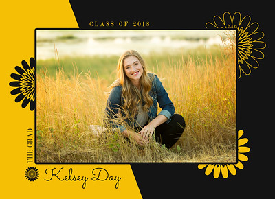 Kelsey Day Grad Card front 1