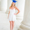 Portraits, Graduation, American University, at Thomas Jefferson Memorial, May 2016, photo by Ben Droz.