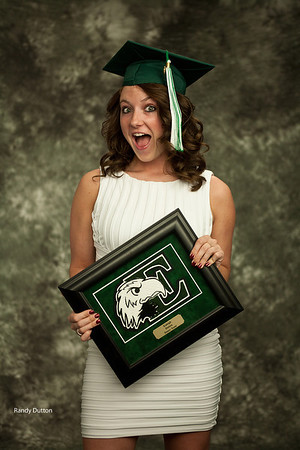 Kaleigh Graduation - Studio