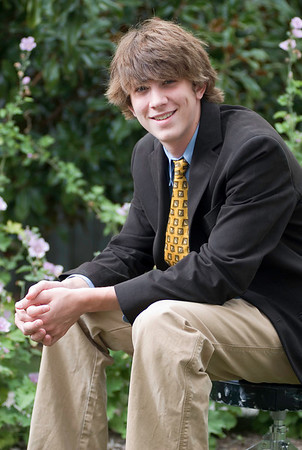 Graham W Senior Portrait