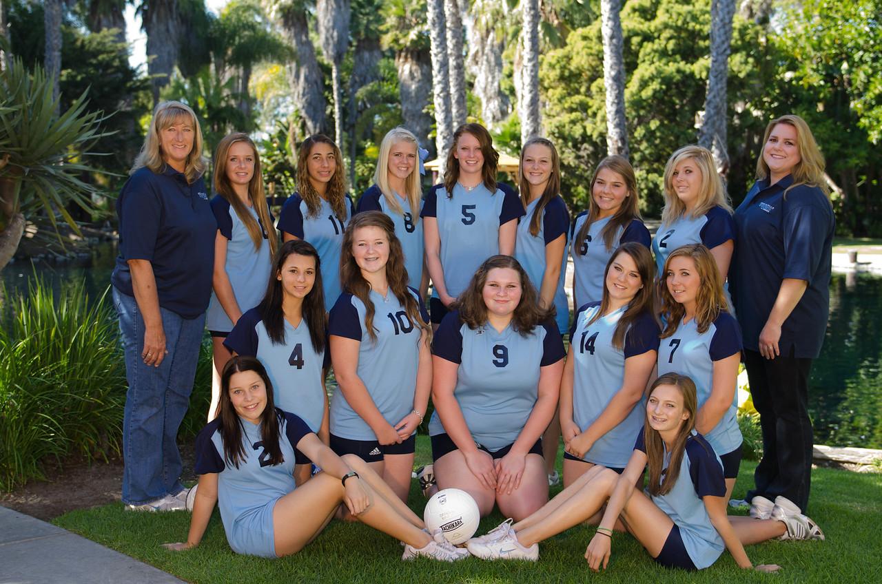 Freshmen Volleyball 2011