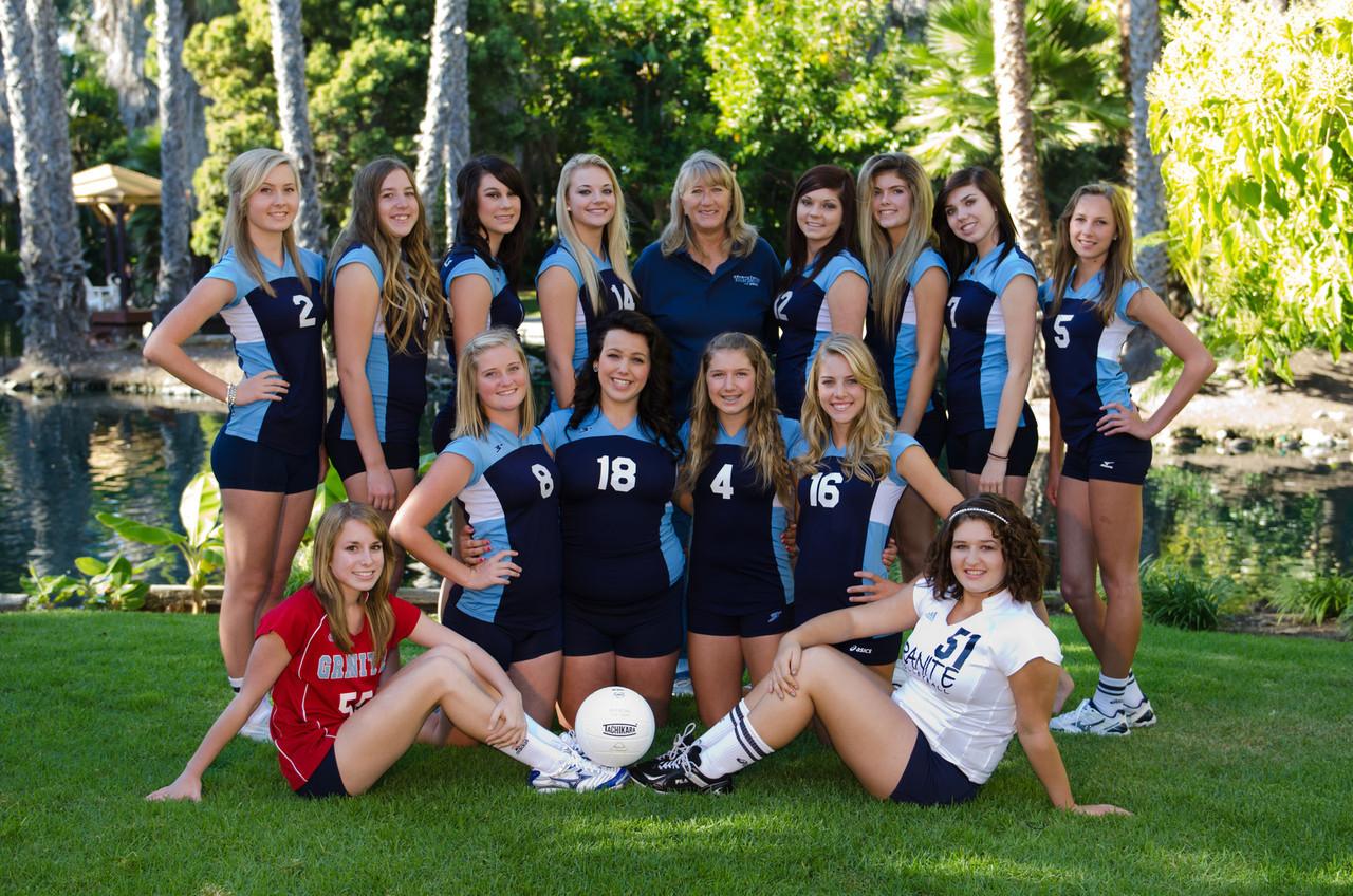 Junior Varsity Volleyball 2011